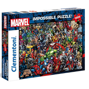 Marvel - Impossible Jigsaw Puzzle 1000 Pieces