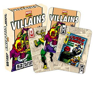 Marvel - Retro Villains Playing Cards