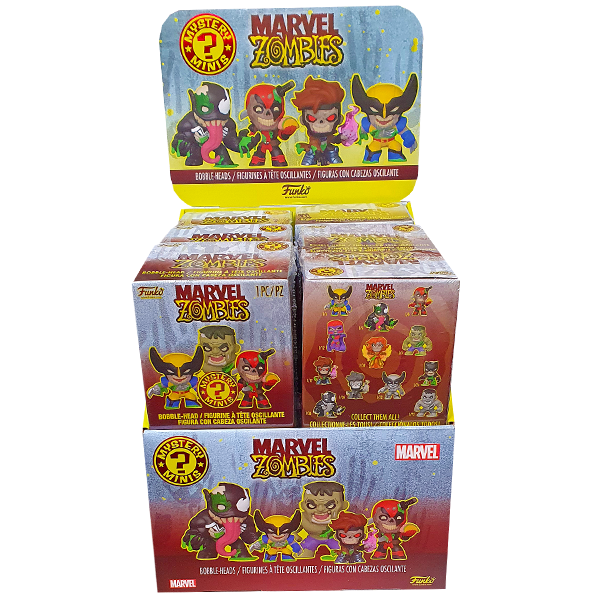 Marvel Zombies - Zombie Mystery Minis - Full Case of 12