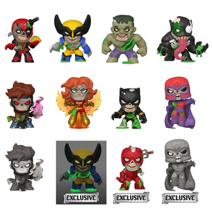 Marvel Zombies - Zombie Mystery Minis Sepcialty Series - Full Case of 12