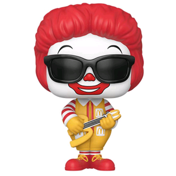 McDonalds - Rock Out Ronald McDonald Pop! Vinyl Figure