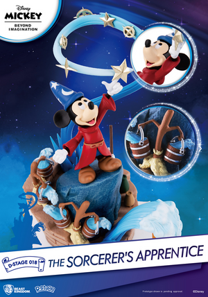 Disney - Mickey Mouse The Sorcerer's Apprentice D-Stage Diorama Statue