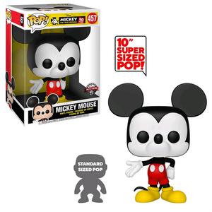 "Mickey Mouse 90th Anniversary - Mickey Mouse (Colour) US Exclusive 10"" Pop! Vinyl Figure"