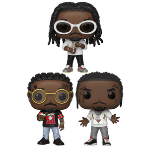 Migos - Pop! Vinyl Figures Bundle