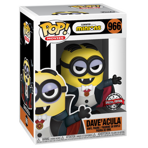 Minions Universal Monsters - Dave'acula US Exclusive Pop! Vinyl Figure