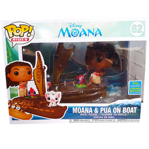 Moana - Moana & Pua on Boat SDCC 2019 Exclusive Pop! Rides Vinyl Figure
