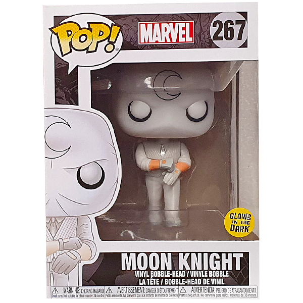 Marvel - Moon Knight Glow Exclusive Pop! Vinyl Figure