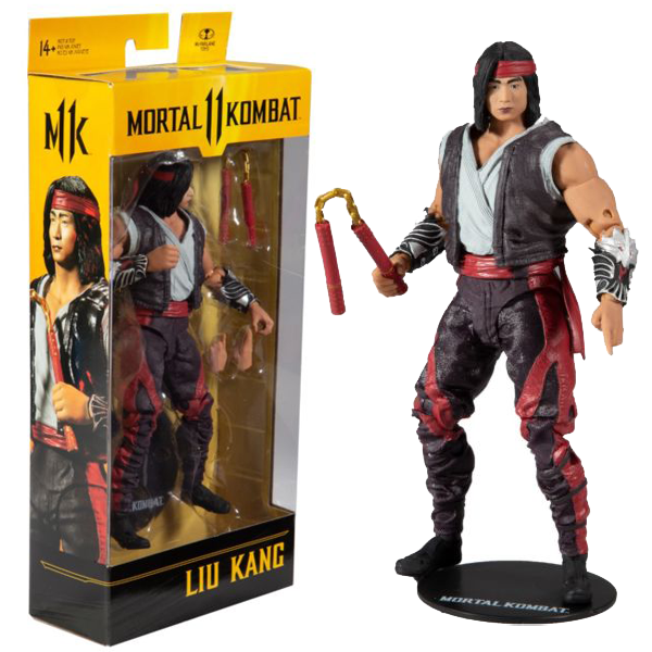 "Mortal Kombat 11 - Liu Kang 7"" Action Figure"