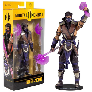"Mortal Kombat 11 - Sub-Zero Winter Purple Skin 7"" Action Figure"