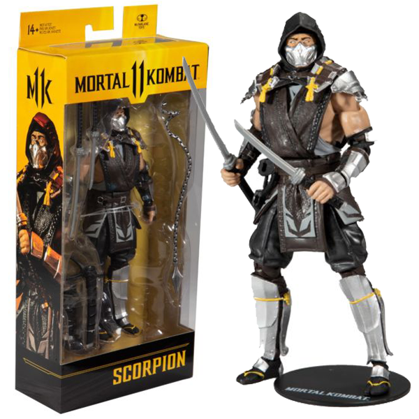 "Mortal Kombat 11 - Scorpion In The Shadows Skin 7"" Action Figure"
