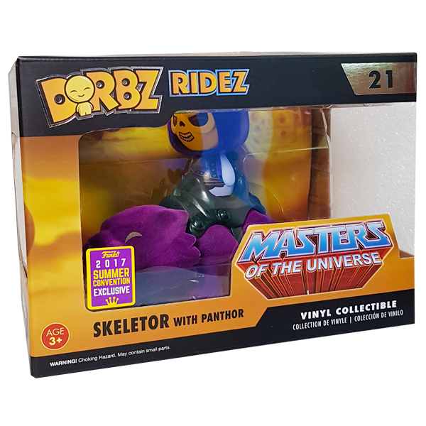 Masters of the Universe - Skeletor with Panthor SDCC 2017 Exclusive Dorbz Ridez