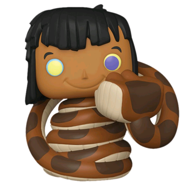 The Jungle Book - Mowgli with Kaa US Exclusive Pop! Vinyl Figure