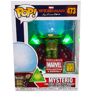 Spider-Man Far From Home - Mysterio (Light Up) MCC Exclusive Pop! Vinyl Figure
