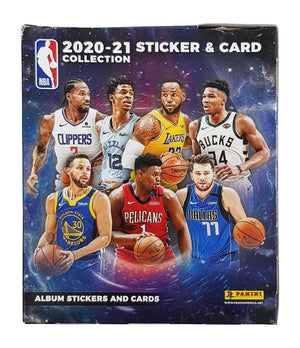 NBA - 2020-21 Sticker & Card Collection - Packet