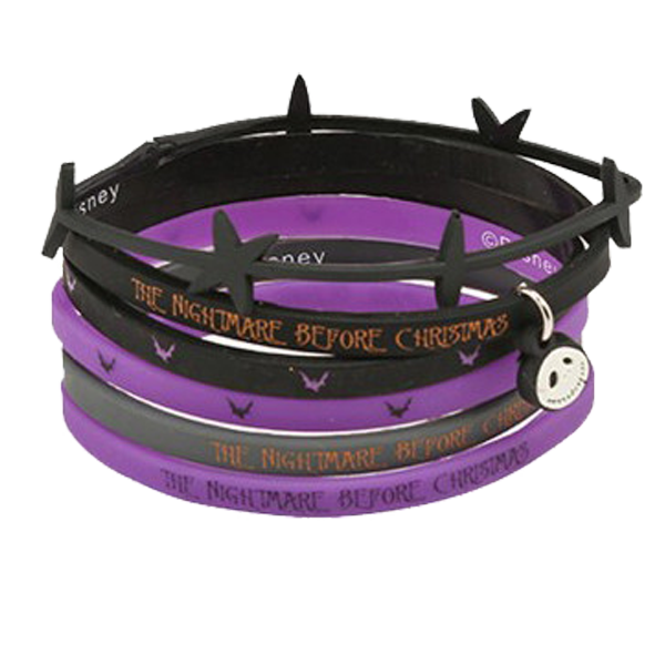 The Nightmare Before Christmas - Silicone Bracelets