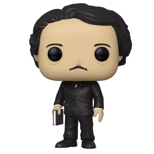 Icons - Edgar Allan Poe w/Book NYCC 2019 Exclusive Pop! Vinyl Figure