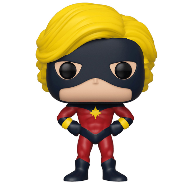 Marvel 80th Anniversary - Captain Mar-Vell First Appearance NYCC 2019 Exclusive Pop! Vinyl Figure