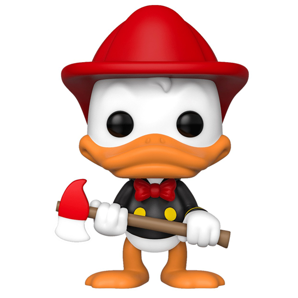 Disney - Donald Duck (Firefighter) NYCC 2019 Exclusive Pop! Vinyl Figure