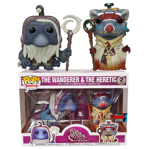 Dark Crystal Age of Resistance - Wanderer & Heretic NYCC 2019 Exclusive Pop! Vinyl Figure 2-Pack