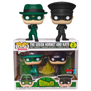 Green Hornet - Green Hornet & Kato NYCC 2019 Exclusive Pop! Vinyl Figure 2-Pack