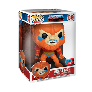 "Masters of the Universe - Beast Man 10"" NYCC 2020 Exclusive Pop! Vinyl Figure"