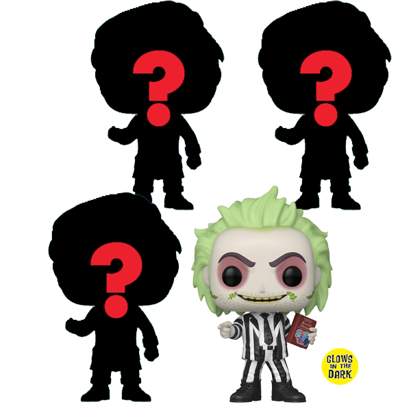 NYCC 2020 Exclusives - Pop! Vinyl Figures Bundle Mystery Beetlejuice