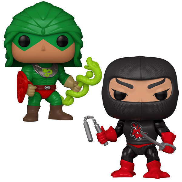 NYCC 2020 Exclusives - Masters of the Universe Duo Pop! Vinyl Figures Bundle