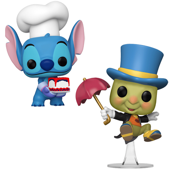 NYCC 2020 Exclusives - Disney Duo Pop! Vinyl Figures Bundle