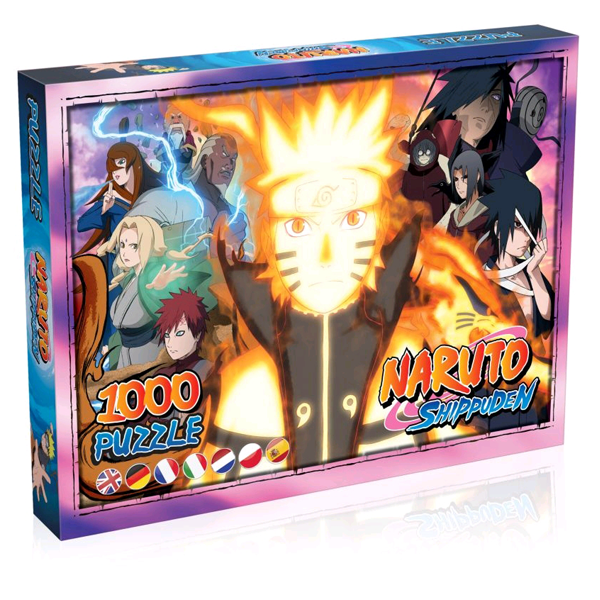 Naruto Shippuden - Jigsaw Puzzle 1000 Pieces
