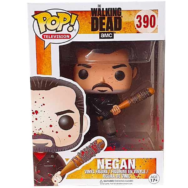 The Walking Dead - Negan (Bloody) US Exclusive Pop! Vinyl Figure