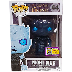 Game of Thrones - Night King (Translucent) SDCC 2017 Exclusive Pop! Vinyl Figure