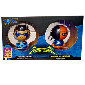 Nightwing - Nightwing and Deathstroke SDCC 2017 Exclusive Dorbz 2-Pack