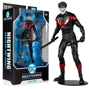 "Batman: Death of the Family - Nightwing Joker DC Multiverse 7"" Action Figure"