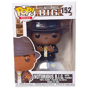 Notorious B.I.G. - Notorious B.I.G. with Fedora Pop! Vinyl Figure