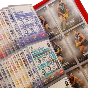 AFL 2016 Select Trading Cards - Full set of Commons in Official Folder