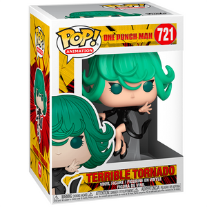One Punch Man - Terrible Tornado Pop! Vinyl Figure