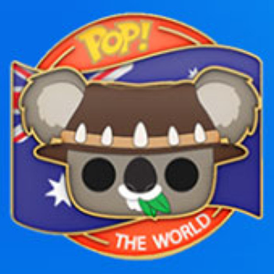 Around the World - Ozzy the Koala (Australia) with Collector Pin US Exclusive Pop! Vinyl Figure