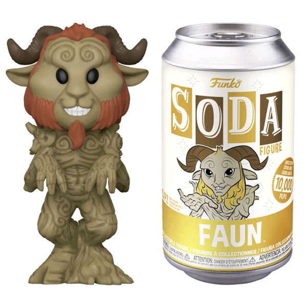 Pan's Labyrinth - Faun Vinyl SODA Figure