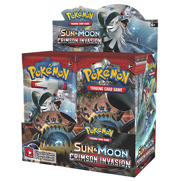 POKÉMON TCG - Sun & Moon Crimson Invasion Sealed Box