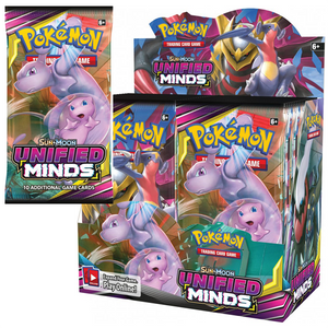 POKÉMON TCG - Sun & Moon Unified Minds Booster Pack