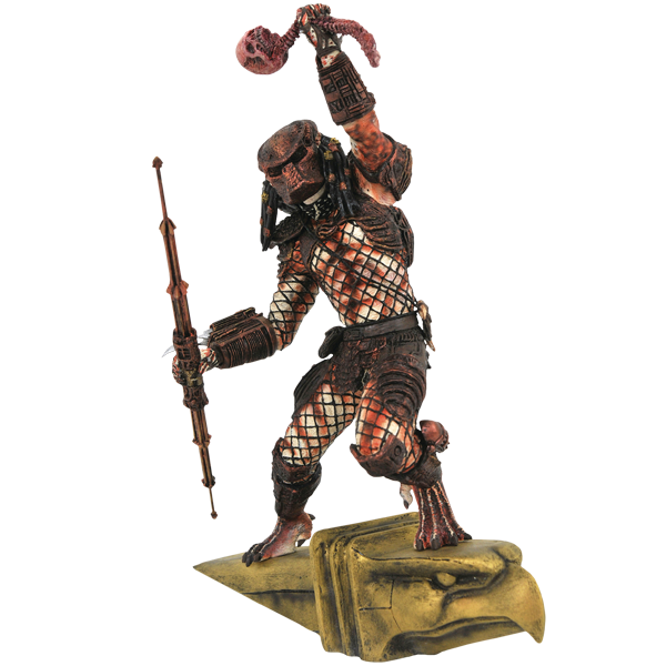 "Predator 2 - City Hunter Gallery 11"" PVC DC Gallery Statue"