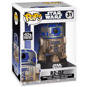 Star Wars The Empire Strikes Back - R2-D2 (Dagobah) US Exclusive Pop! Vinyl Figure