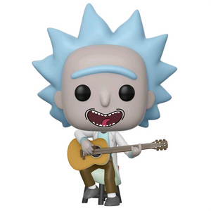 Rick and Morty - Tiny Rick with Guitar US Exclusive Pop! Vinyl Figure