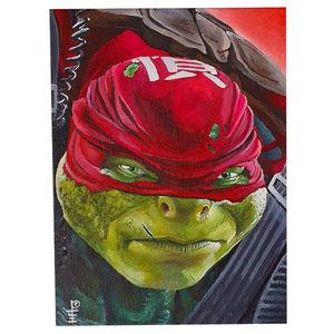 "Artwork - Acyrlic Painting 6""x8"" - 'Raphael'"