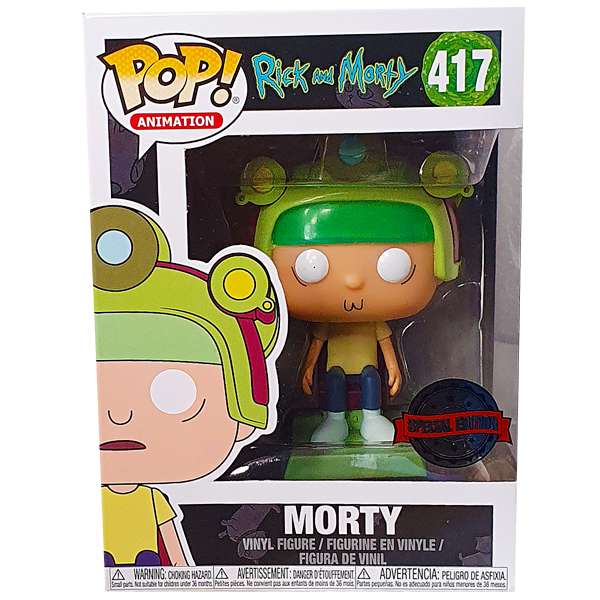 Rick and Morty - Morty (Blips and Chitz) Exclusive Pop! Vinyl Figure
