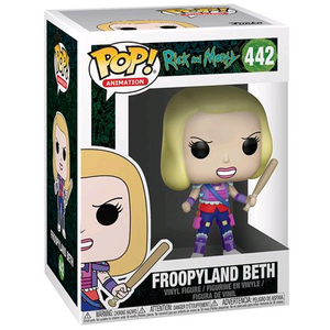 Rick and Morty - Froopyland Beth Pop! Vinyl Figure