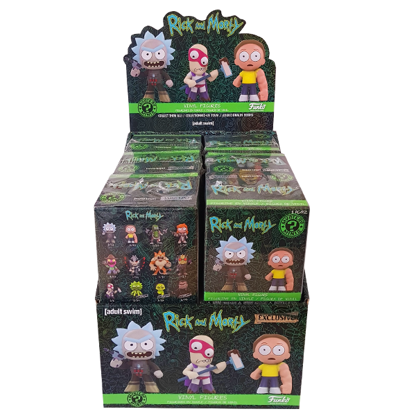 Rick and Morty - Series 02 Target US Exclusive Mystery Minis - Blind Box