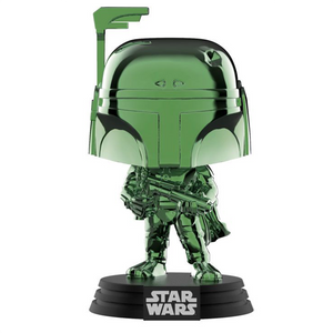 Star Wars - Boba Fett Green Chrome SDCC 2019 Exclusive Pop! Vinyl Figure