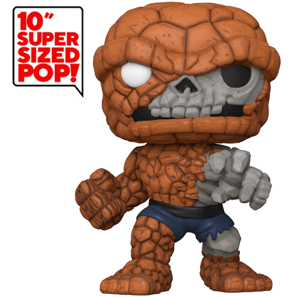 "Marvel Zombies - Zombie The Thing 10"" SDCC 2020 Exclusive Pop! Vinyl Figure"