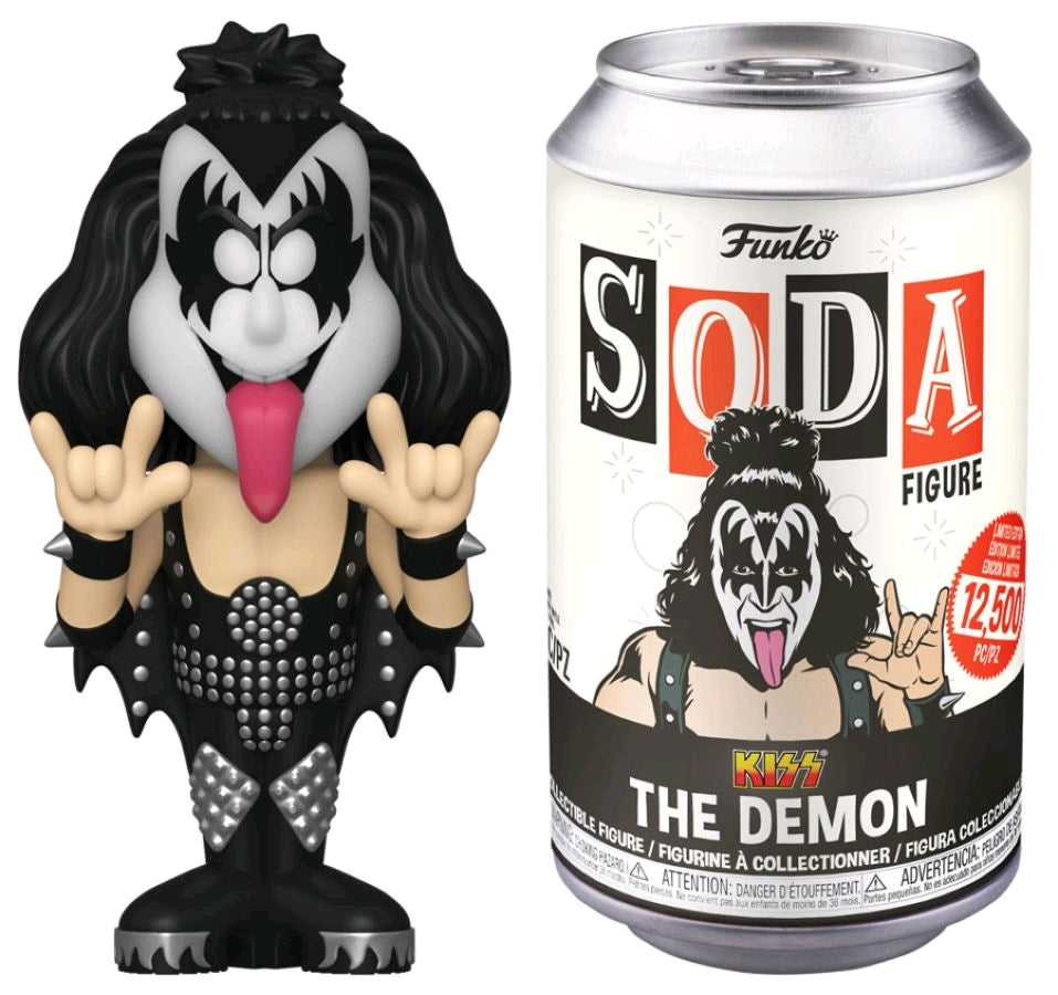 Kiss - Gene Simmons The Demon Vinyl SODA Figure